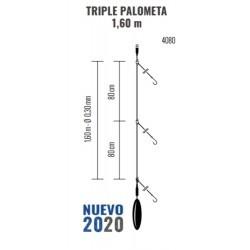 Bajo de línea Triple  PALOMETA 1.60m