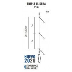 Bajo de línea Triple LLISERA  2m