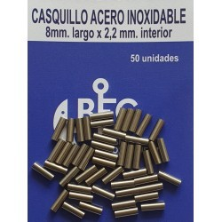 CASQUILLOS ACERO INOXIDABLE