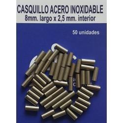 CASQUILLO ACERO INOXIDABLE