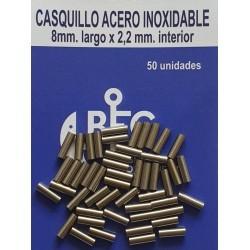 CASQUILLO DE ACERO INOXIDABLE
